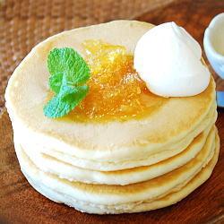 柚茶パンケーキ